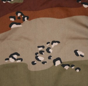 Камуфляж 6 colour desert