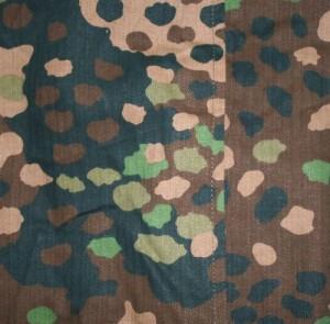 Камуфляж Waffen SS pea pattern