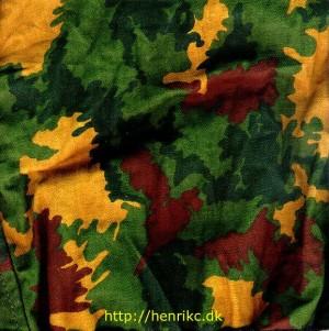 Камуфляж 4 colour leaf pattern