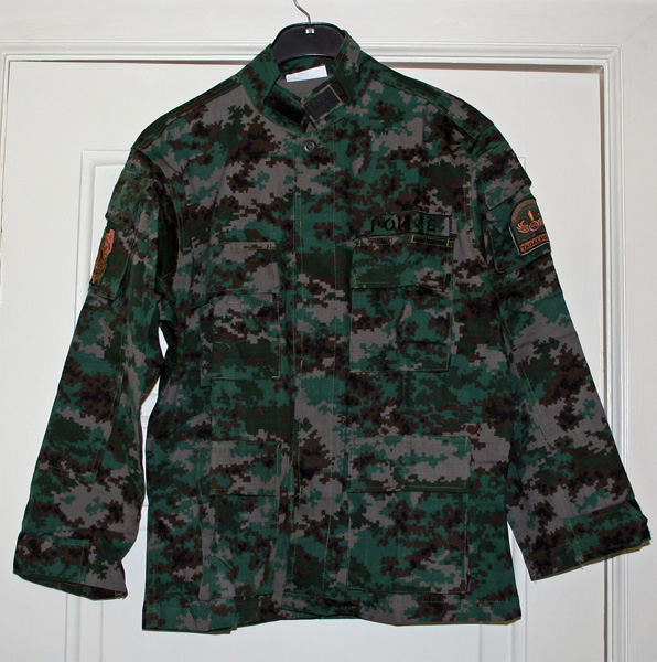 Камуфляж PNP SAF digital uniform