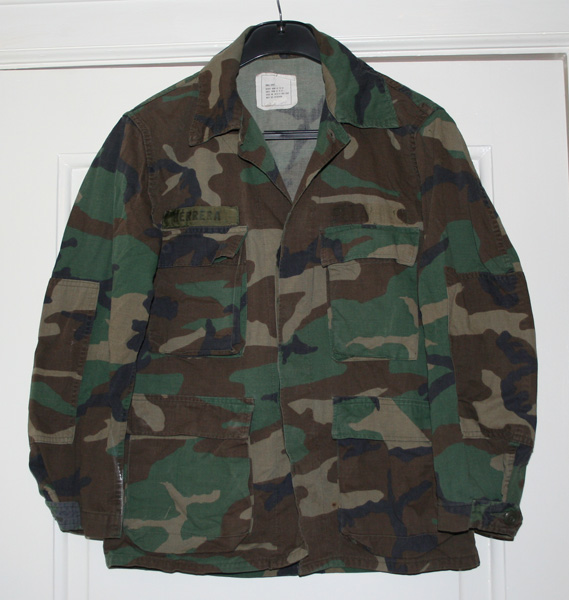 Камуфляж Coat, Combat, Woodland
