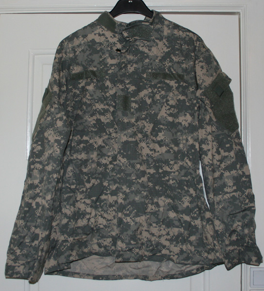 Камуфляж ACU - Army Combat Uniform