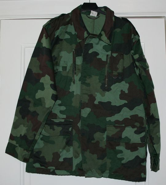 Камуфляж M89 light jacket