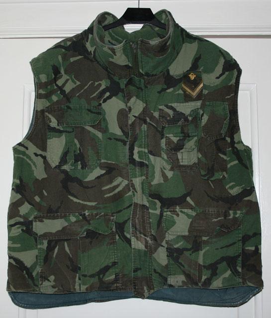 Камуфляж DPM vest