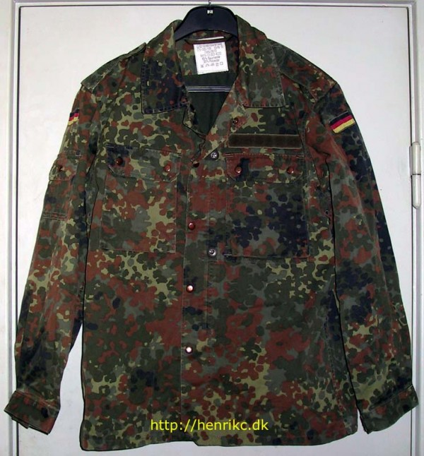 Камуфляж Flecktarn field jacket