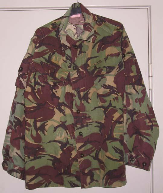 Камуфляж Current DPM shirt