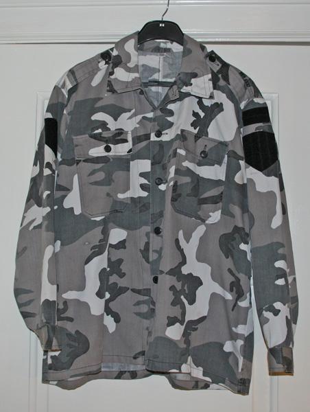 Камуфляж JSO Urban camouflage