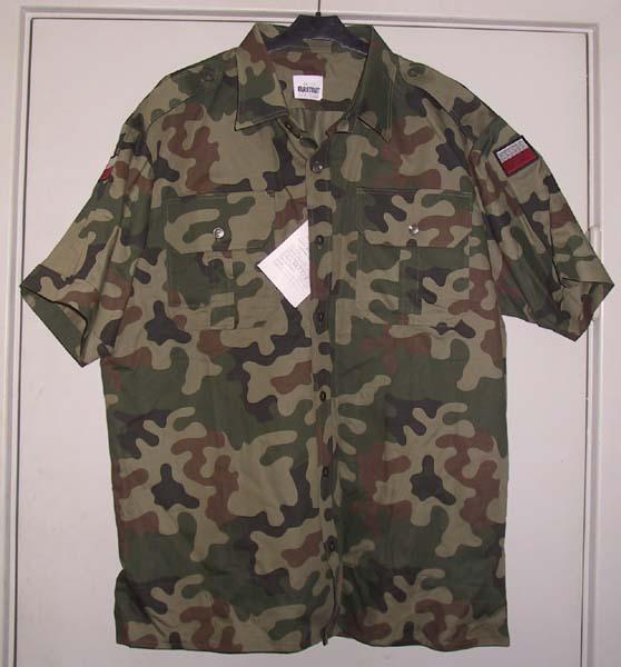 Камуфляж Pantera short sleeve shirt