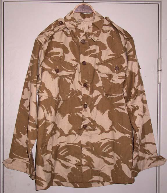 Камуфляж Jacket, Combat, Tropical Desert DPM